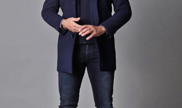 mantel € 129,90<br/>jeans € 59,99