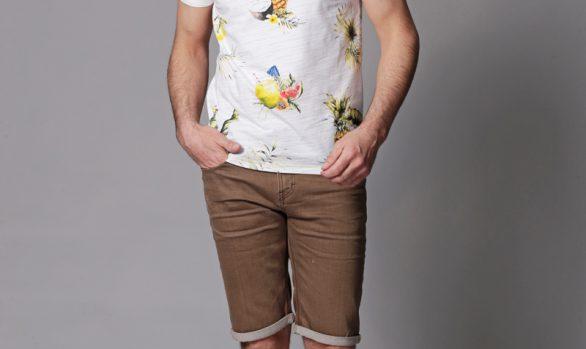t-shirt € 39,95<br/>short € 59,95